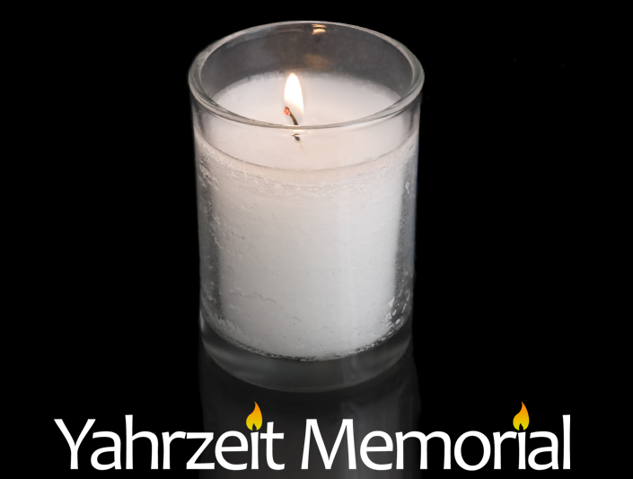 Yahrzeit Memorial Reminders Plaques Virtual Candles